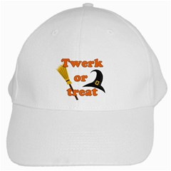 Twerk or treat - Funny Halloween design White Cap