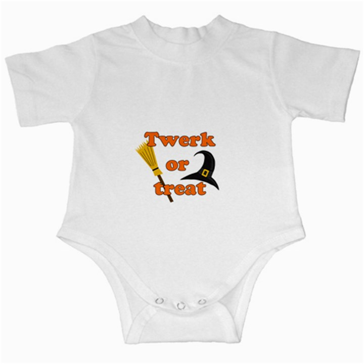 Twerk or treat - Funny Halloween design Infant Creepers