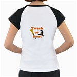 Twerk or treat - Funny Halloween design Women s Cap Sleeve T Back
