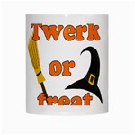 Twerk or treat - Funny Halloween design White Mugs Center