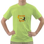 Twerk or treat - Funny Halloween design Green T-Shirt Front
