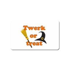 Twerk or treat - Funny Halloween design Magnet (Name Card)