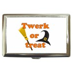 Twerk or treat - Funny Halloween design Cigarette Money Cases Front
