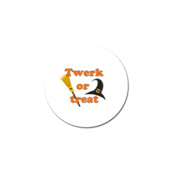 Twerk or treat - Funny Halloween design Golf Ball Marker (4 pack)