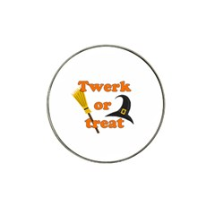 Twerk Or Treat   Funny Halloween Design Hat Clip Ball Marker (10 Pack)