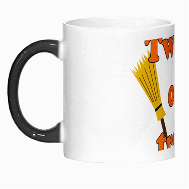 Twerk or treat - Funny Halloween design Morph Mugs