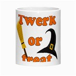 Twerk or treat - Funny Halloween design Morph Mugs Center