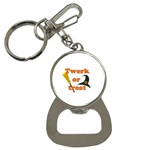 Twerk or treat - Funny Halloween design Bottle Opener Key Chains Front
