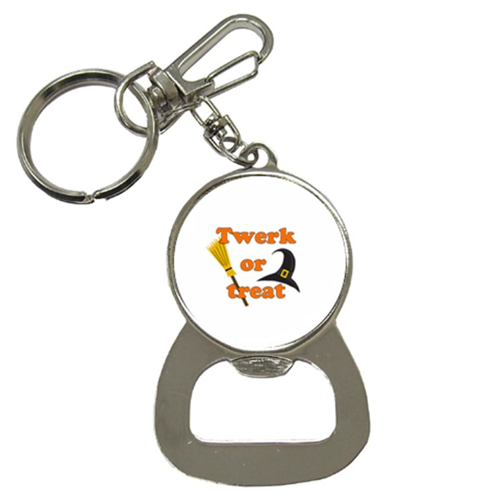 Twerk or treat - Funny Halloween design Bottle Opener Key Chains