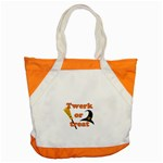Twerk or treat - Funny Halloween design Accent Tote Bag Front
