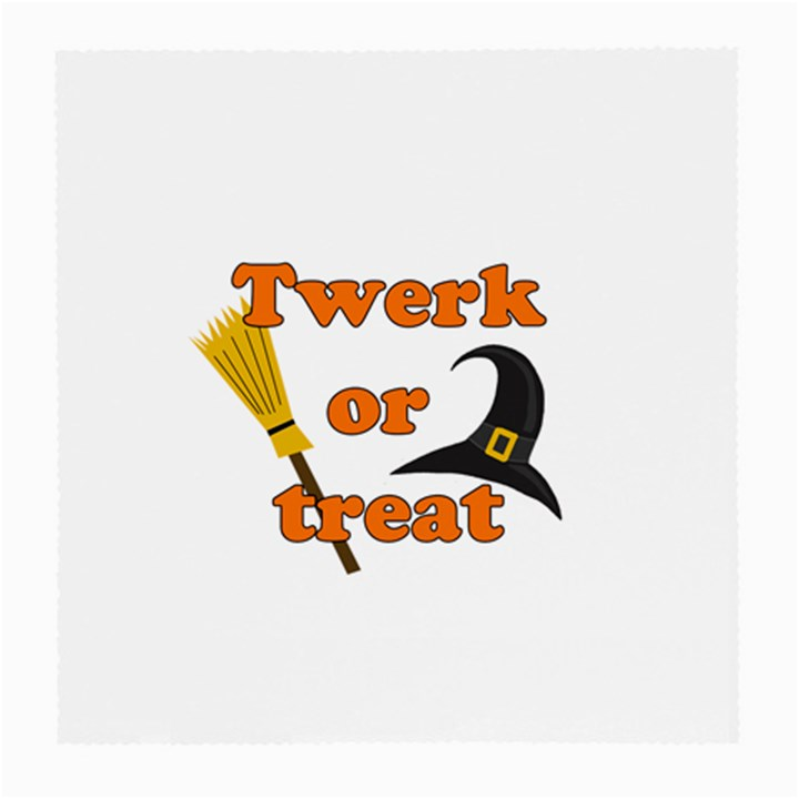 Twerk or treat - Funny Halloween design Medium Glasses Cloth (2-Side)