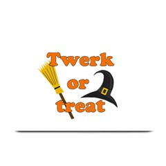 Twerk or treat - Funny Halloween design Plate Mats