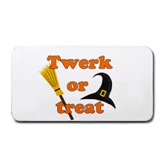 Twerk or treat - Funny Halloween design Medium Bar Mats