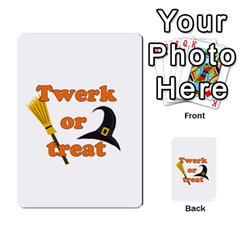 Twerk Or Treat   Funny Halloween Design Multi Purpose Cards (rectangle)