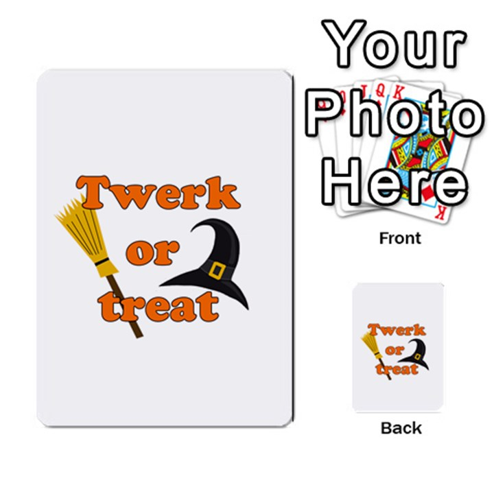 Twerk or treat - Funny Halloween design Multi-purpose Cards (Rectangle)
