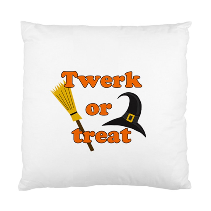 Twerk or treat - Funny Halloween design Standard Cushion Case (One Side)