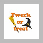 Twerk or treat - Funny Halloween design Mini Canvas 8  x 8  8  x 8  x 0.875  Stretched Canvas
