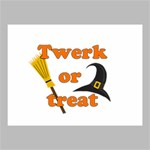 Twerk or treat - Funny Halloween design Canvas 16  x 12  16  x 12  x 0.875  Stretched Canvas
