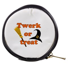 Twerk or treat - Funny Halloween design Mini Makeup Bags