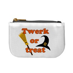 Twerk or treat - Funny Halloween design Mini Coin Purses