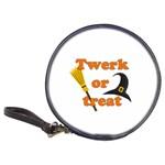 Twerk or treat - Funny Halloween design Classic 20-CD Wallets Front