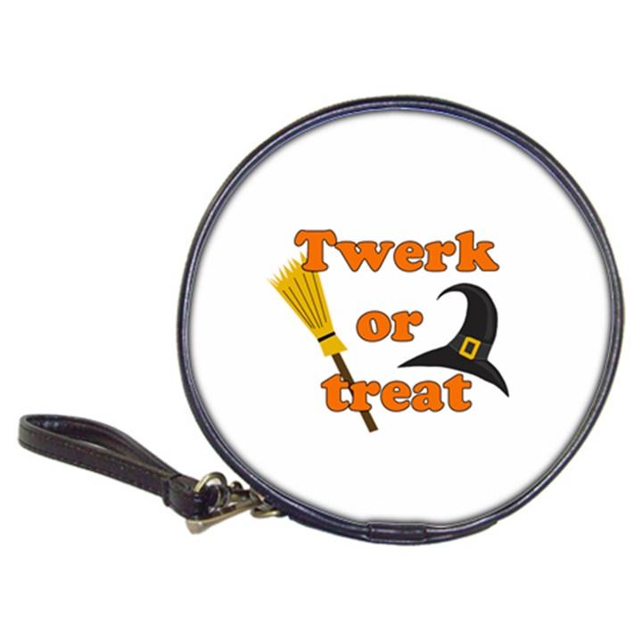 Twerk or treat - Funny Halloween design Classic 20-CD Wallets