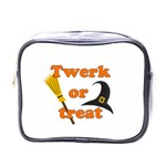 Twerk or treat - Funny Halloween design Mini Toiletries Bags Front