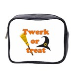 Twerk or treat - Funny Halloween design Mini Toiletries Bag 2-Side Front