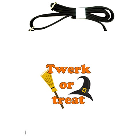 Twerk or treat - Funny Halloween design Shoulder Sling Bags