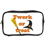 Twerk or treat - Funny Halloween design Toiletries Bags 2-Side Back