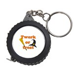Twerk or treat - Funny Halloween design Measuring Tapes Front