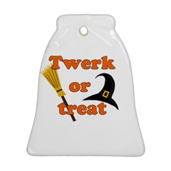 Twerk or treat - Funny Halloween design Bell Ornament (2 Sides)