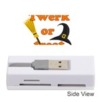 Twerk or treat - Funny Halloween design Memory Card Reader (Stick)  Front