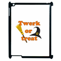 Twerk Or Treat   Funny Halloween Design Apple Ipad 2 Case (black)