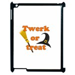 Twerk or treat - Funny Halloween design Apple iPad 2 Case (Black) Front