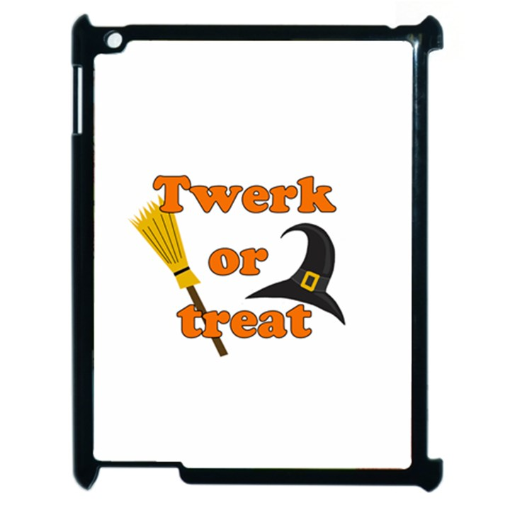 Twerk or treat - Funny Halloween design Apple iPad 2 Case (Black)