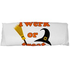 Twerk or treat - Funny Halloween design Body Pillow Case (Dakimakura)