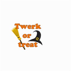 Twerk or treat - Funny Halloween design Large Garden Flag (Two Sides)