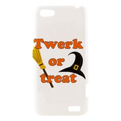 Twerk or treat - Funny Halloween design HTC One V Hardshell Case