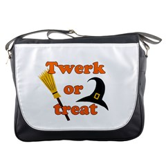 Twerk Or Treat   Funny Halloween Design Messenger Bags