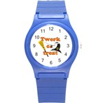 Twerk or treat - Funny Halloween design Round Plastic Sport Watch (S) Front
