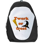 Twerk or treat - Funny Halloween design Backpack Bag Front