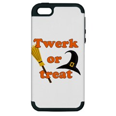 Twerk Or Treat   Funny Halloween Design Apple Iphone 5 Hardshell Case (pc+silicone)