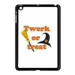 Twerk or treat - Funny Halloween design Apple iPad Mini Case (Black) Front