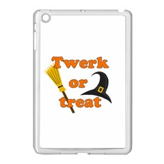 Twerk or treat - Funny Halloween design Apple iPad Mini Case (White)