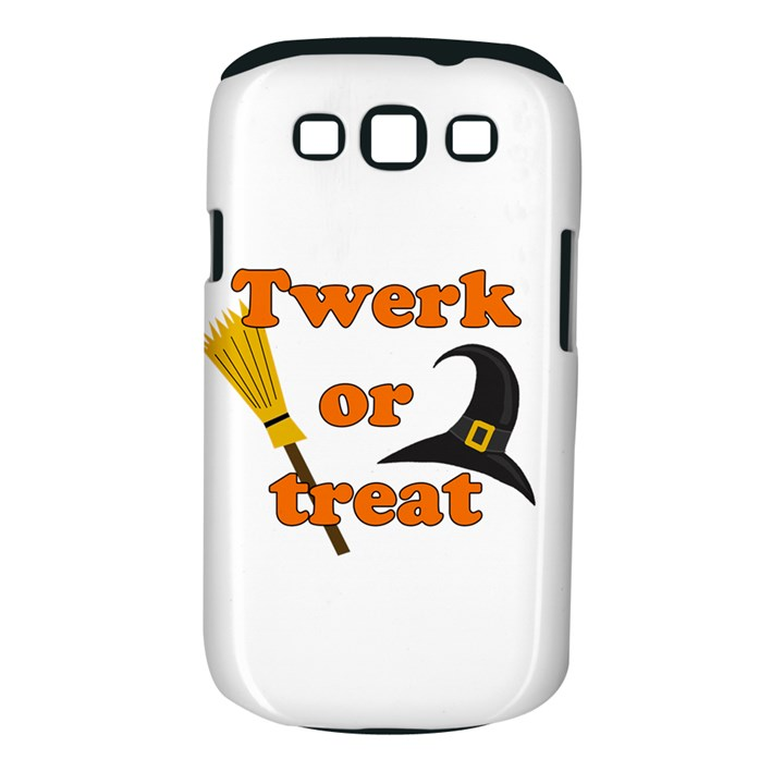 Twerk or treat - Funny Halloween design Samsung Galaxy S III Classic Hardshell Case (PC+Silicone)