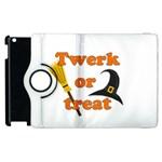 Twerk or treat - Funny Halloween design Apple iPad 2 Flip 360 Case Front