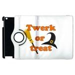 Twerk or treat - Funny Halloween design Apple iPad 3/4 Flip 360 Case Front