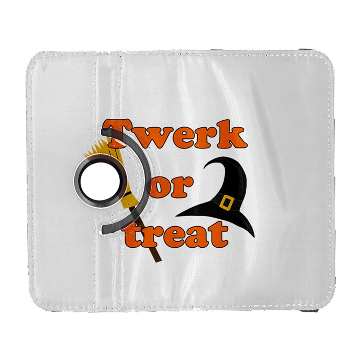 Twerk or treat - Funny Halloween design Samsung Galaxy S  III Flip 360 Case