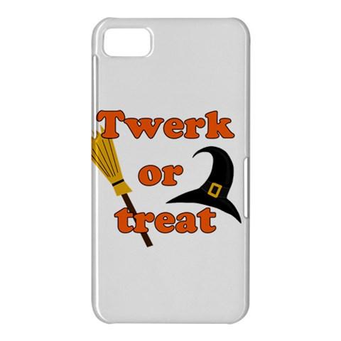 Twerk or treat - Funny Halloween design BlackBerry Z10